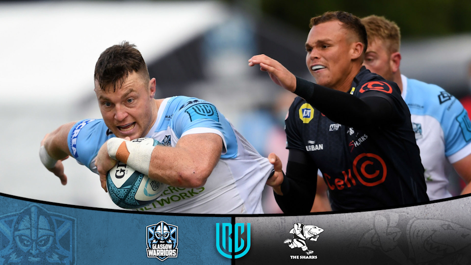 Sharks outclassed by rampant Glasgow Warriors