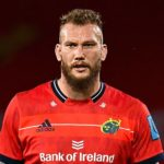 Limerick , Ireland - 25 September 2021; RG Snyman of Munster during the United Rugby Championship match between Munster and Cell C Sharks at Thomond Park in Limerick.